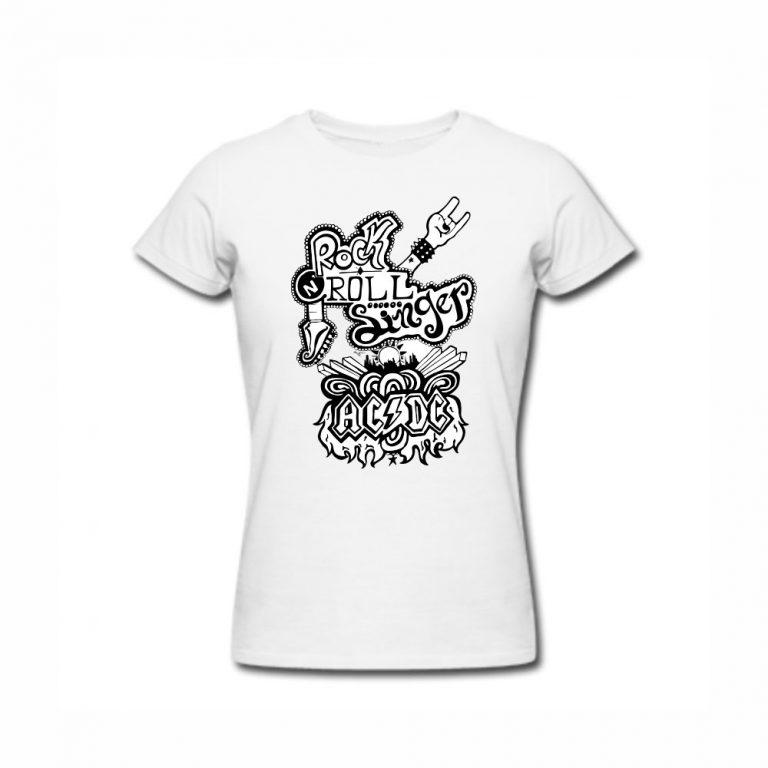 """Тениска """"Rock and roll"""""""